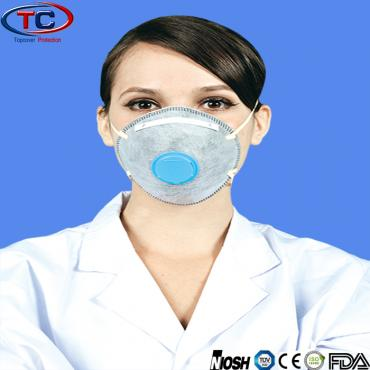 Disposable N95/FFP1/FFP2/FFP3 Face Mask With active carbon and Valve
